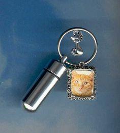 Urns- Clearance - Last Minute Deals. Won't Last  S,Key Chain Urn,Pet Urn,Feline,Cat,Dog,Cremation Urn,Cremation,Small Urn