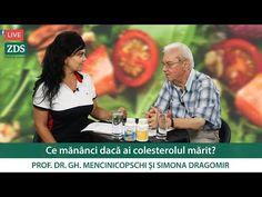 Ce mănânci dacă ai colesterolul mărit? - YouTube Personal Care, Live, Youtube, Nature, Medicine, Diet, Cholesterol, Self Care, Naturaleza