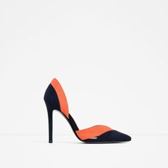 Image 1 of THREE-COLOUR HIGH HEEL SHOES from Zara