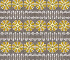 sun_and_arrow fabric by holli_zollinger on Spoonflower - custom fabric