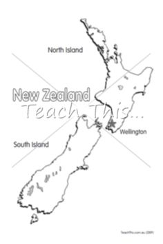 World map humanities pinterest resource teacher graphic new zealand map printable maps and graphic organisers teacher resources teacher resources and classroom games gumiabroncs Image collections