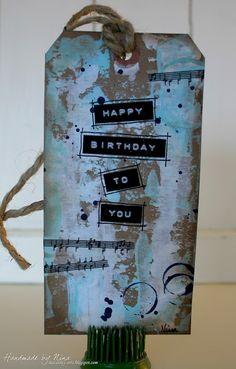 Happy Birthday! tag. Nina Macaulay.