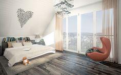 Lerch und Partner AG 3d Modellierung, Studios, Bed, Modern, Furniture, Home Decor, Apartments, Architecture, Trendy Tree