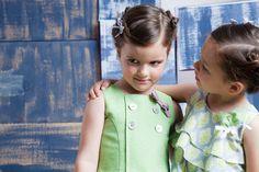 Vestidos colección primavera verano 2013 Fina Ejerique moda infantil | Dresses spring summer 2013 collection Fina Ejerique children fashion