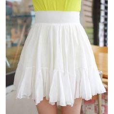 Elegant Solid Color High Waist Women's Mermaid Skirt