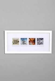 polaroids frame