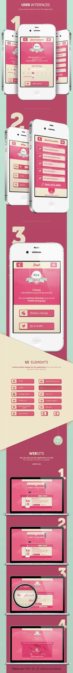 """Veet-it *** """"Veet-it is a practical application which you log in using your twitter account. Veet-it is available on IOS, Android and on Web."""" by Awesome Broduction"""