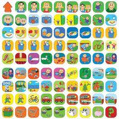 Deze set magnetische pictogrammen, is geschikt voor planbord Morgenster en bevat 81 Leuke, kleurrijke en overzichtelijke pictogrammen voor kinderen.