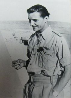 Hans-Joachim Marseille: Third Reich fighter pilot, jazz enthusiast, ladies man. Ww2 Aircraft, Military Aircraft, North African Campaign, Jazz, Flying Ace, Military Photos, Fighter Pilot, German Army, Luftwaffe