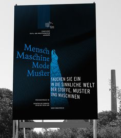 Corporate designfor the Public Textile and Industry Museum in Augsburg, Germany.