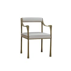 It's beautiful - but is it comfortable? I don't want people to leave my house and have their high point be the moment they were able to escape an uncomfortable dining chair. The Giac Dining Chair was inspired by Alberto Giacometti. Seen on Dering Hall.