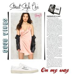 """""""Lady"""" by yumyv ❤ liked on Polyvore featuring Nasty Gal, Garance Doré and Yves Saint Laurent"""