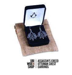 UbiWorkshop   Assassin's Creed Ottoman Crest Earrings   $29.99