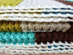 Karin aan de haak: Dikke gehaakte retro deken met patroon Baby Blanket Crochet, Crochet Baby, Crochet Blankets, Baby Blankets, Blanket Stitch, Handmade Home, Shag Rug, Crochet Patterns, Crochet Ideas