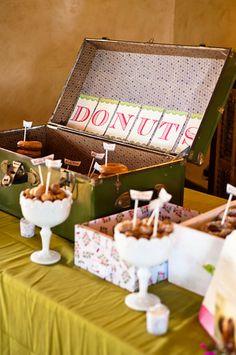 way to display donuts