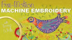 Free-Motion Machine Embroidery  - How To Do Embroidery for Beginners (15 Classes & Tutorials) - DIY for Life