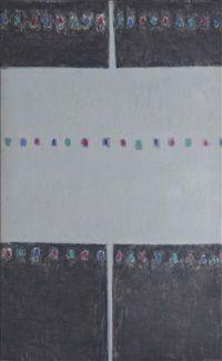 (Korea) Sky by  Kim Whanki (1913-1974). Oil on canvas.