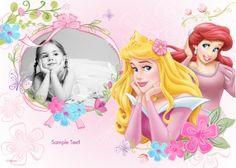 Disney Princess - Photo Card