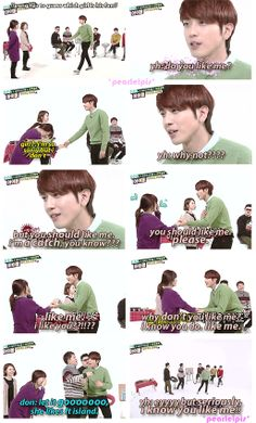 Lol My ultimate bias Jung Yong Hwa. This was my favorite episode of Weekly Idol. CNBlue are hilarious! Cnblue, Btob, Minhyuk, Jung Hyun, Jung Yong Hwa, Funny Memes, Hilarious, Kang Min Hyuk, Weekly Idol