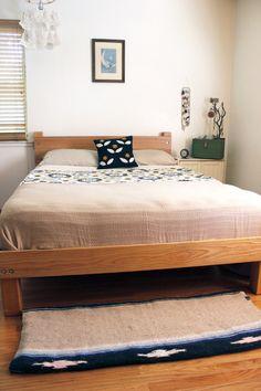 Nice DIY Bed Diy Bed Frame, Bed Frame Plans, Bed Frame And Headboard, Diy