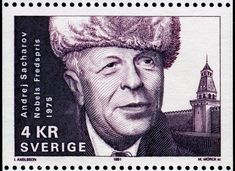Andrei Sakharov (human rights activist), 1975 Nobel Prize Winners, Human Rights Activists, Stamp Collecting, Postage Stamps, Famous People, The Incredibles, History, Gallery, Historia