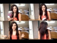 DIY How to Dye your Hair Cherry Black at Home | Loreal Casting Creme Gloss 360 Black Cherry Review - YouTube Loreal Casting Creme Gloss, Black Cherry Hair, Updos, Your Hair, It Cast, Youtube, Nails, Diy, Up Dos