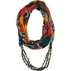 Sari Wrap Infinity Scarf - Ten Thousand Villages Canada Sustainable Fashion, Infinity, Sari, Shawls, Scarves, Canada, Vegan, Accessories, Style