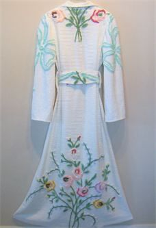 Chenille Bath Robe