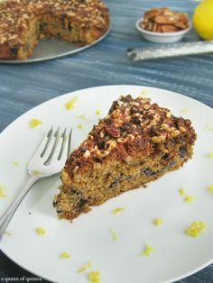 Lemon Blueberry Coffee Cake + users 1/2 teff flour and 1/2 brown rice flour instead of quinoa flour....delicious!