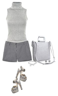 """""""Grey Matters Too"""" by lisa-holt ❤ liked on Polyvore featuring Pilot, L.L.Bean, Brian Atwood, Acciaio and David Yurman"""