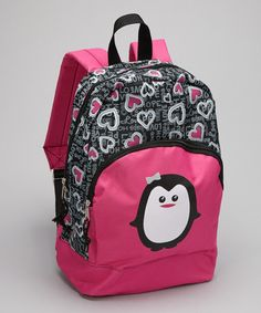 Take a look at this Penguin Backpack by Trailmaker on #zulily today!