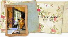 THE SEW THERAPY Embroidery Stitches, Embroidery Patterns, Crochet Border Patterns, Drawn Thread, Cut Work, Bargello, Therapy, Sewing, Handmade
