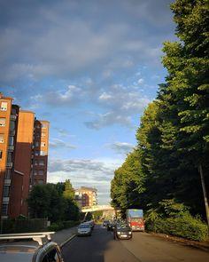 #Torino #Turin #Vallette #seemycity #igerstorino #nofilter #blue #sky #clouds