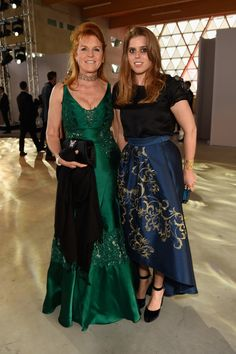 Sarah Ferguson Photos Photos - Sarah Ferguson, Duchess of York (L) and Princess Beatrice of York attend the Fashion for Relief event during the 70th annual Cannes Film Festival at Aeroport Cannes Mandelieu on May 21, 2017 in Cannes, France. - Fashion for Relief - Red Carpet Arrivals - The 70th Annual Cannes Film Festival