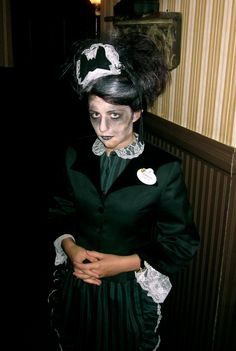 Haunted Mansion Maid Me - Not-So-Scary Halloween Party, Fall 2011