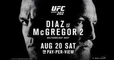 Watch UFC 202 Nate Diaz VS Conor McGregor 2 Fight Online