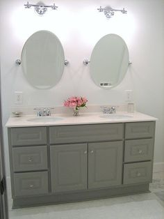 Paint Our Bathroom Cabinets Grey