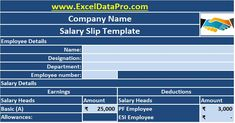 Salary slip or Payslip is a business document issued by the employer to the employee every month on receipt of salary. it is an HR/Payroll document.