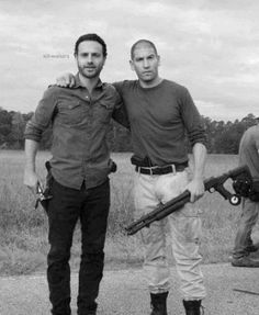 Andrew Lincoln & Jon Bernthal, The Walking Dead