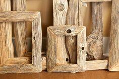 Reclaimed Farm Wood Artwork or Photo Frame by IvarsDesign on Etsy, $75.00