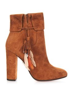 Coachella suede ankle boots | Aquazzura | MATCHESFASHION.COM UK