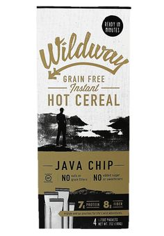 Java Chip Wildway Grain-Free Instant Hot Cereal #paleo #grainfree #glutenfree #vegan #whole30