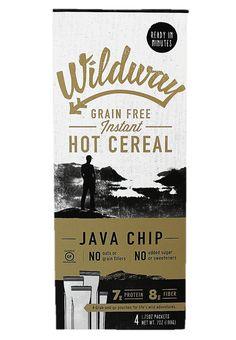 Java Chip Wildway Grain-Free Instant Hot Cereal #paleo #grainfree #glutenfree #vegan #whole30