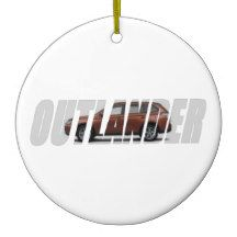 2015 Outlander Ceramic Ornament
