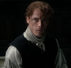 Together again: Jamie Fraser was surprised by Claire at his print shop