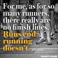 Running Doesn't End
