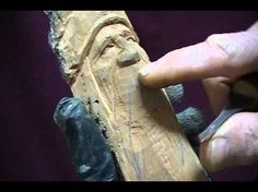CARVING A MOUNTAIN MAN - This guy has the best teaching voice!