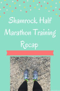 Shamrock Half Marathon Training Recap, Blizzard Edition. See how Courtney's training fared in Blizzard Jonas! via Eat Pray Run DC.