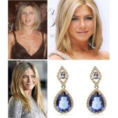 Jeniffer Aniston ícone fashion e seus cortes de cabelo são invejados por dez entre dez mulheres no mundo! Sim, queremos copiar tudo que ela adota.  #poderosa #joia #jewel #divamoderna #divoryeuuso #divory