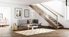 modern Scandinavian interior. By Pikcells Visualisation Studio